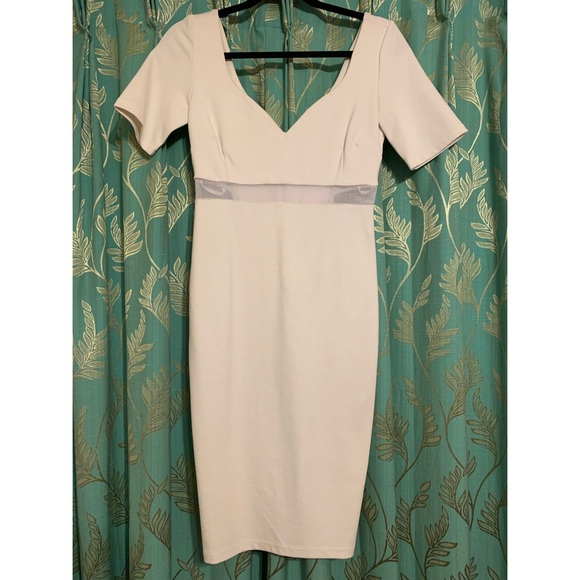 Olivaceous Dresses & Skirts - White dress